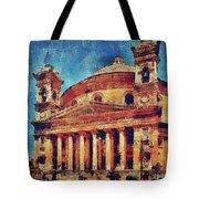 Mosta Church Tote Bag