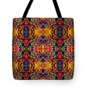 Mostique Tile Tote Bag