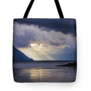 Mostly Cloudy With A Few Sunbreaks Tote Bag