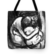 Mother And Baby8216 Tote Bag