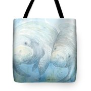 Mother And Calf Tote Bag