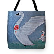Mother And Child II Tote Bag
