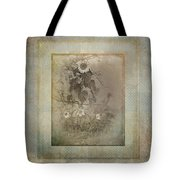 Mother And Child Reunion Vintage Frame Tote Bag