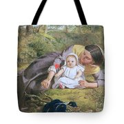 Mother And Child With A Poppy Tote Bag
