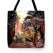 Mother And Children #1 Tote Bag