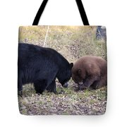 Mother And Cub Tote Bag