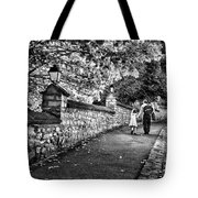 Mother And Daughter-france Tote Bag