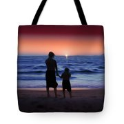 Mother And Daughter Tote Bag