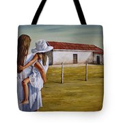Mother And Daughter Iv Tote Bag