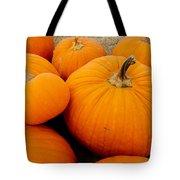 Mother And Daughter Pumpkins Tote Bag