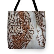 Mother And Son - Tile Tote Bag