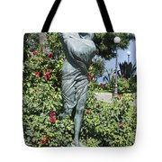 Mother Child Statue Tote Bag