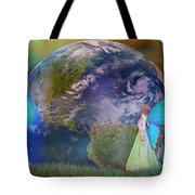 Mother Earth Series Plate3 Tote Bag