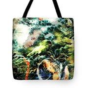 Mother Earth Sister Moon Tote Bag