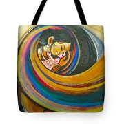 Mother Love,mothers Lap Tote Bag