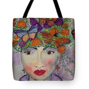Mother Nature Tote Bag by Kim Nelson