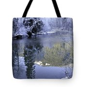 Mother Natures Chilling Touch Tote Bag
