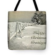 Mother Nature's Christmas Tree Card Tote Bag