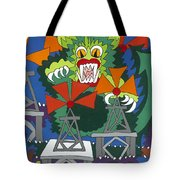 Mother Nature's Helper Tote Bag by Rojax Art