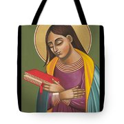 Mother Of God After Fra Angelico 168 Tote Bag