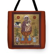 Mother Of God Life Giving Spring With Mother Macaria Of Russia And Blessed Margaret Of Castello 179 Tote Bag