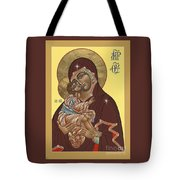 Mother Of God Virgin Of The Don 187 Tote Bag