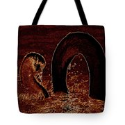 Mother Swan And Cygnet Tote Bag