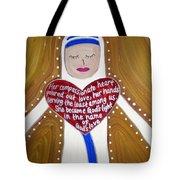 Mother Teresa Tote Bag