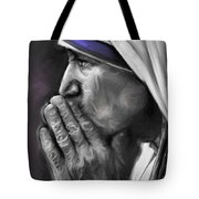 Mother Teresa Of Calcutta Tote Bag