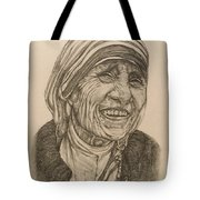 Mother Theresa Kindness Tote Bag