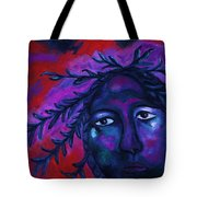 Mother Watching All Tote Bag