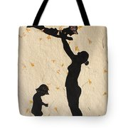 Mother With Children  Tote Bag