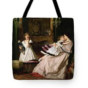 Motherly Love Tote Bag by Gustave Leonard de Jonghe