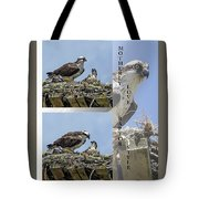 Motherly Love Raptor Style Tote Bag