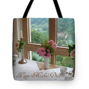 Mother's Day Card - German Cafe Tote Bag