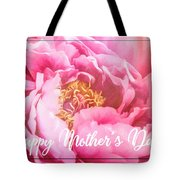 Mother's Day Peony Tote Bag
