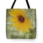 Mother's Day Sunflower Tote Bag