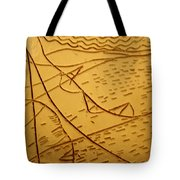 Mothers Eyes - Tile Tote Bag