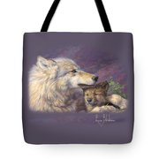 Mother's Love Tote Bag by Lucie Bilodeau