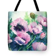 Mother's Prize Poppies  Tote Bag