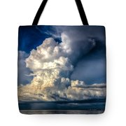 Mothership Thunderstorm  Tote Bag