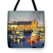 Motif No. 1 - Sunset Digital Art Oil Print Tote Bag