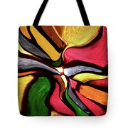 Motion And Light Abstract Tote Bag