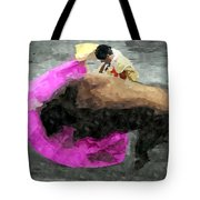 Bull Motion 3 Tote Bag