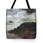 Motion Of A Wave Tote Bag