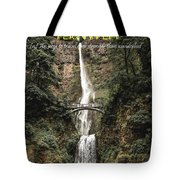 Motivational Travel Poster - Fernweh Tote Bag