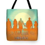 Motivational Travel Poster - Hireath 2 Tote Bag