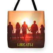 Motivational Travel Poster - Hireath Tote Bag