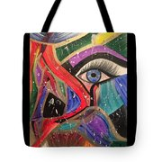 Motley Eye Tote Bag