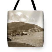 Notleys Landing Big Sur Coast Circa 1933 Tote Bag